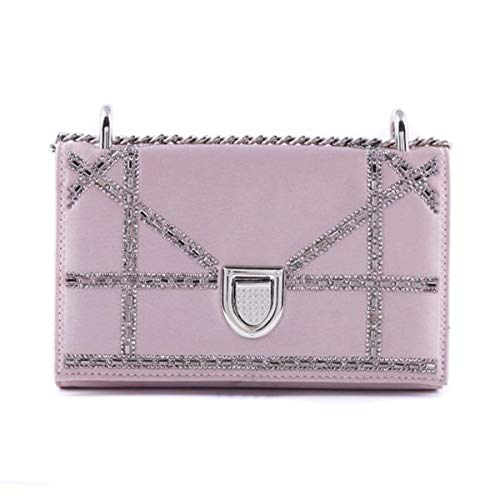 Bags Clutch LeahWard Shoulder Women's Small Holiday Nude 155 Evening Party Pink Bags q6qAtwrn5