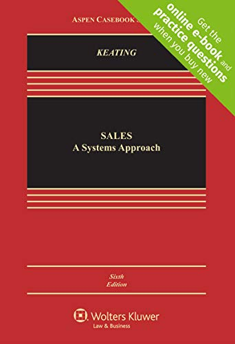 Sales: A Systems Approach [Connected Casebook] (Aspen - Sale System