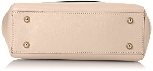 in Italy in Inner 29x20x9 leather Pink Clutch Rosa CTM Shoulder Saffiano Hand Adjustable Pattern Belt genuine Woman's made Cm tO6qwFx6