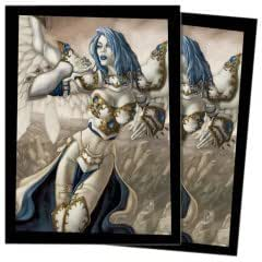 Ultra Pro The Magic the Gathering (MTG) Pacifism (Akroma) - Deck Protectors (80 Sleeves)