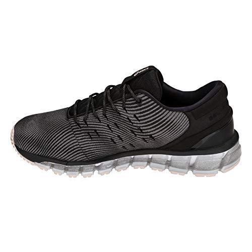 Chaussures Asics Quantum 020 Gris Running 360 de Black 4 Gel Femme Carbon rHPP5WI
