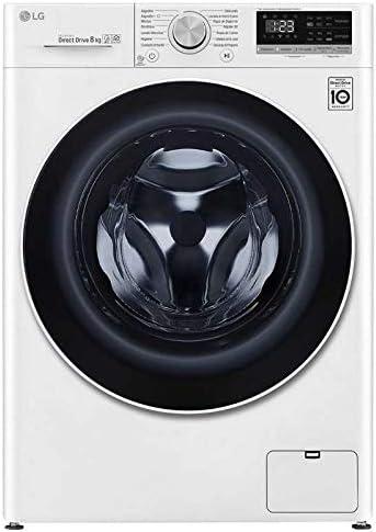 LG - Lavadora-8-Kg-Lg-A-F4Wn408N0: 384.45: Amazon.es: Grandes ...