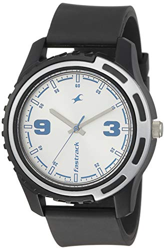 Fastrack Casual Analog Silver Dial Men's Watch NM3114PP02/NN3114PP02