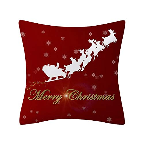 kitt 18x18 inch Christmas Throw Pillow Covers