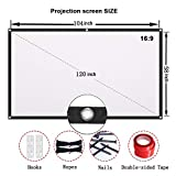 Projector Screen CFTech 120 inch Portable