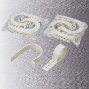 桃陽電線 ケース販売 100袋セット フリーサドル アイボリー FS-10_set B008AT8DOS