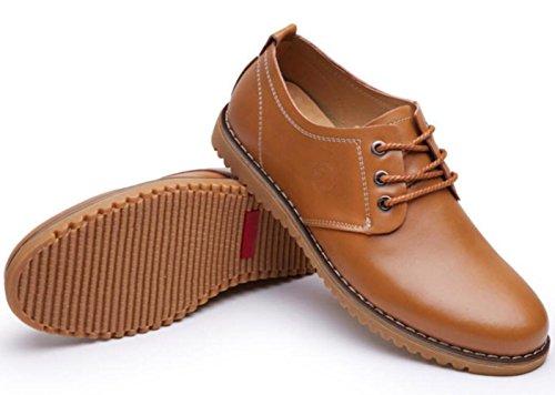 DHFUD Zapatos Zapatos Yellow Primavera De Para Hombres Casuales Zapatos xfAx6rw