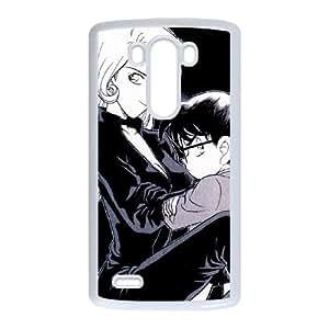 Detective Conan LG G3 Cell Phone Case White JT3858177186