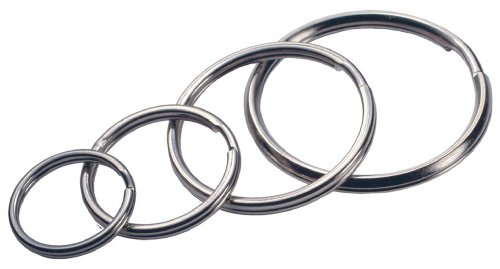 Ring Key Metallic (Hillman 701288 Split Key Ring, Silver Metallic)