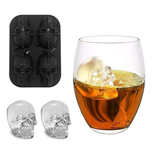 Cube Ice Mold - 3d Skull Head Ice