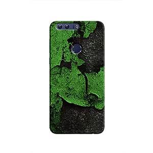 Cover It Up - Green Algae Honor 8 Hard Case