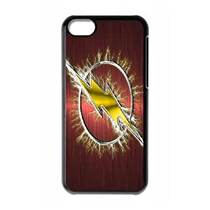 The Flash iPhone 5c Cell Phone Case Black Delicate gift JIS_372596