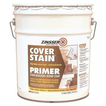 Zinsser 5 Gal White Alkyd Cover Stain Primer