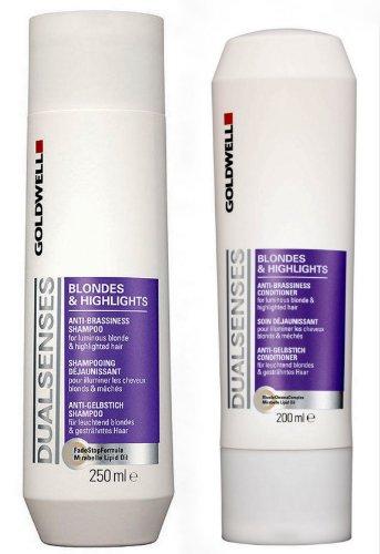Goldwell Dualsenses Blondes & Highlights Set (Shampoo + Conditioner)