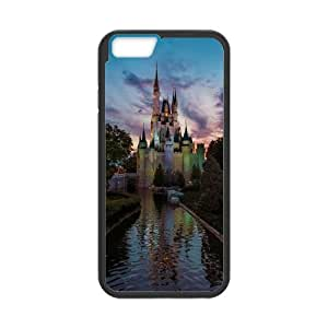 Custom Fantastic Magic Castle Durable Protector Plastic Snap On Cover Case for iPhone 5C