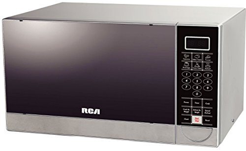 RCA 1.1 Cubic Feet Stainless Steel Microwave Oven by RCA