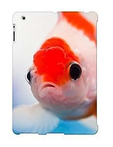 Crooningrose Ipad 2/3/4 Hybrid Tpu Case Cover Silicon Bumper Animal Fish