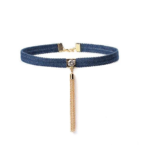 Coolrunner Tassels Necklace Chokers Chocker