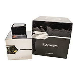 Al Haramain L´Aventure Eau De Parfum for Men, 3.33 oz.