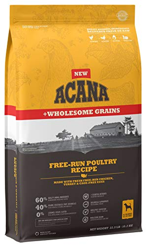 ACANA Free-Run Poultry + Wholesome Grains 22.5lb
