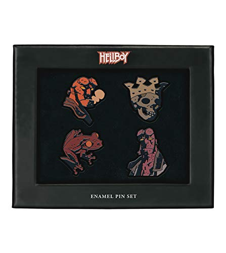 Dark Horse Deluxe Hellboy Enamel Pin Set