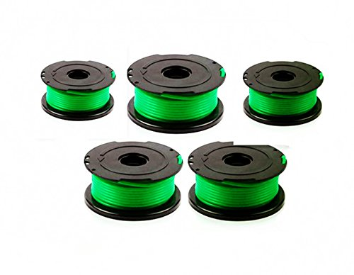 Replacement Trimmer Spool Line for Black+Decker, compatible with SF-080 Auto Feed Spool Single Line Trimmer,5-Pack (String Trimmer Feed)