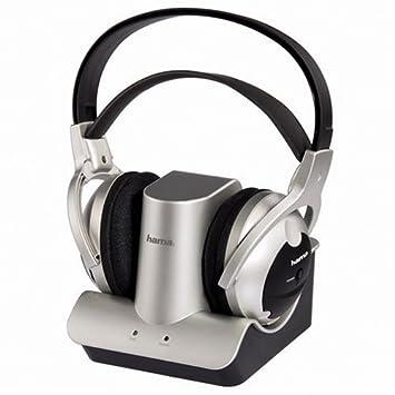 Hama FK-968 40968 - Auriculares de diadema abiertos inalámbricos, negro: Amazon.es: Electrónica