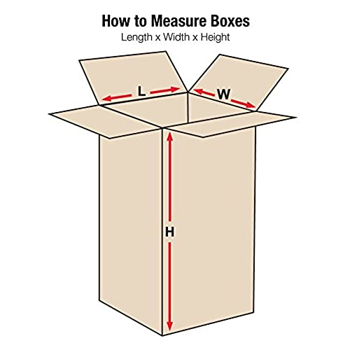 0ee378ec24c Aviditi 101020 Single-Wall Corrugated Box