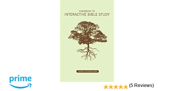 Workbook bible studies for kids worksheets : Handbook to Interactive Bible Study: Dennis Dean Fledderjohann ...