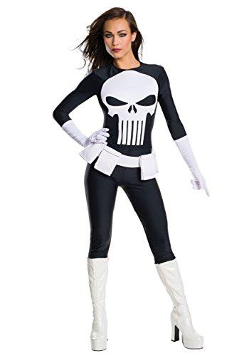 Rubie's Women's Marvel Universe Punisher, As Shown,