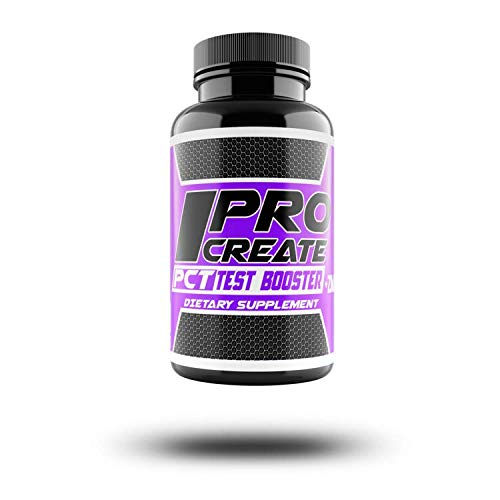 XCD Nutrition Procreate PCT Test Booster- Added ZMA -DHEA for Natural Testosterone Production - Anti Estrogen & Aromatase Inhibitor - Added Resveratrol- 30 Doses