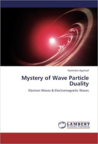 Mystery of Wave Particle Duality: Electron Waves & Electromagnetic