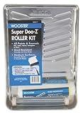 9'' Blue Plastic Super Doo-ZÂ Paint Roller Kit