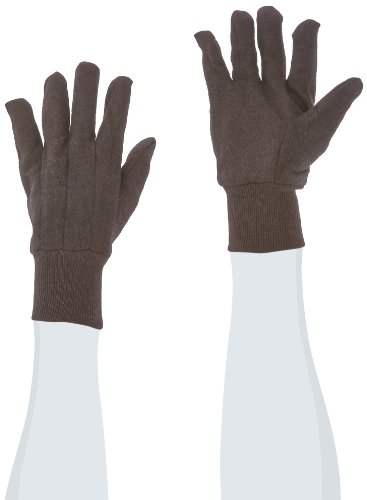 West Chester 65090 Polyester/Cotton Medium Weight Jersey Glove, Work, Knit Wrist Cuff, 9-3/4