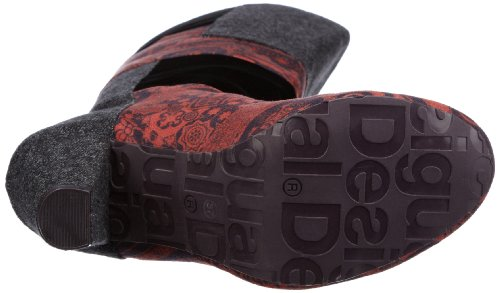 Women's M 10 M Shanon 5 Red 10 EU Desigual Boot US 41 dpaqwgx8