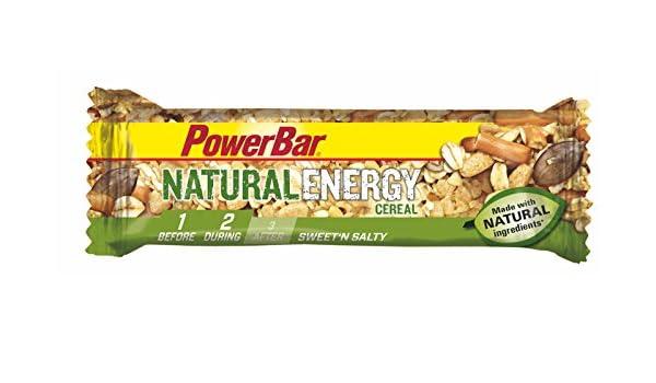 Barrita Energética Natural Energy Cereales PowerBar 12 Barritas x 40g: Amazon.es: Salud y cuidado personal