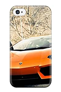 Awesome Honda Sports Car Flip Case With Fashion Design For Iphone 4/4s