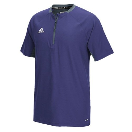 (adidas Mens Fielder's Choice Cage Jacket, Collegiate Purple/Onix Grey, Xx-Large)