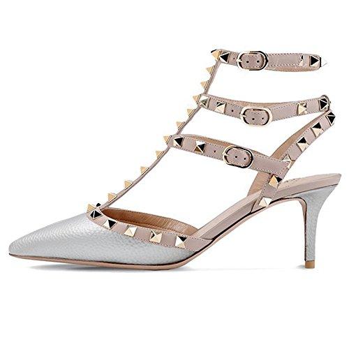 EKS - sandalias Mujer plata