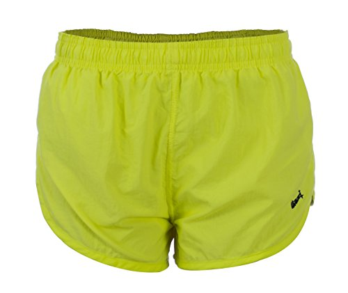 VbrandeD Women's Short Side Split American Neon Running Shorts S - Flag Running Shorts American