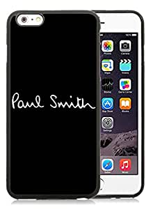 Lovely And Unique Designed Cover Case For iPhone 6 Plus 5.5 Inch With Paul Smith 1 Black Phone Case
