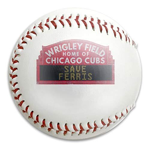 S21WSP Ferris Buellers Day Off Save Ferris Field Sign Baseball, Sport Training Ball Baseball, Festival Gift