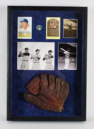 Al Kaline Signed Glove Display Tigers COA JSA Certified Autographed MLB Gloves