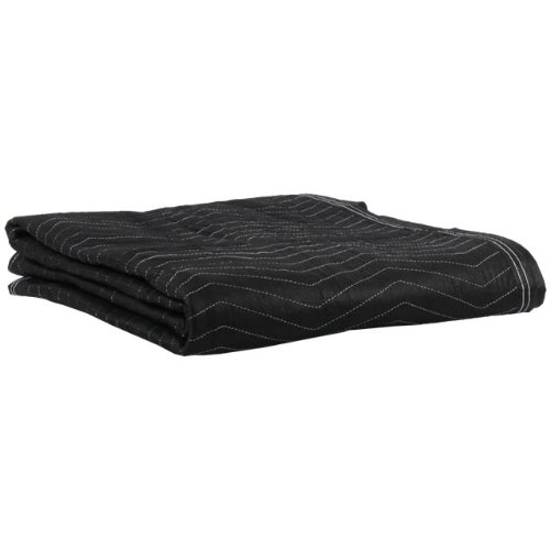 Moving Blanket (4-pack) 72'' X 80'' US Cargo Control - Econo Mover (4.5 Lbs/Each, Black/Black)