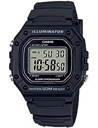 Relógio Casio Masculino Preto W-218H-1AVDF