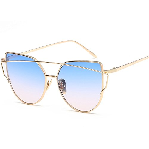 Multiples de Soleil Sunglasses Sunglasses ZYXCC Lunettes Jelly de pour Femmes Fashion YANJING Lunettes Cat 1 Colorées Metal Femmes pour Soleil Eye Couleurs HvfqwEx