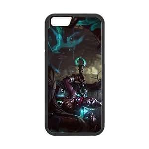 iPhone6 Plus 5.5 inch Phone Case Black Time Assassin Ekko League of Legends WE1TY711949