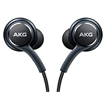 Black AKG Samsung Earphones Headphones Headset Handsfree For Samsung Galaxy S8 & S8 Plus+ in Bulk Packaging