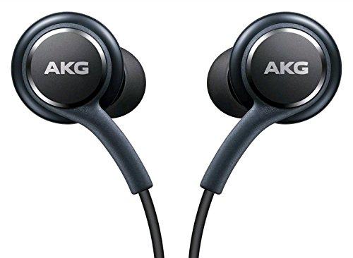 black akg samsung earphones headphones headset handsfree