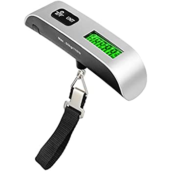 TopTie 110lbs Luggage Scale with Temperature Sensor Gift for Traveler